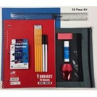 10 Pc. School Kit $3.65 Each.