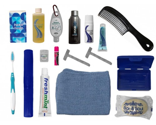 Wholesale Men's Hygiene Kits