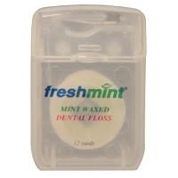 Freshmint Dental Floss Waxed 12 yd.