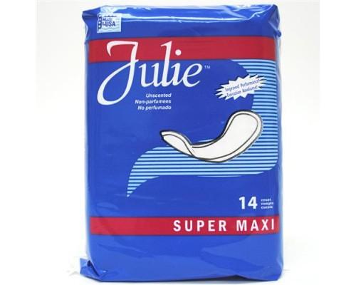 Super Maxi Pads Julie 14 ct.