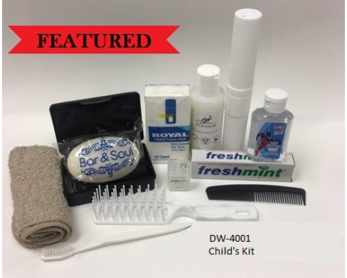 Wholesale Child Hygiene kit $5.25 Each.